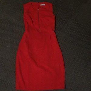 Pencil red dress